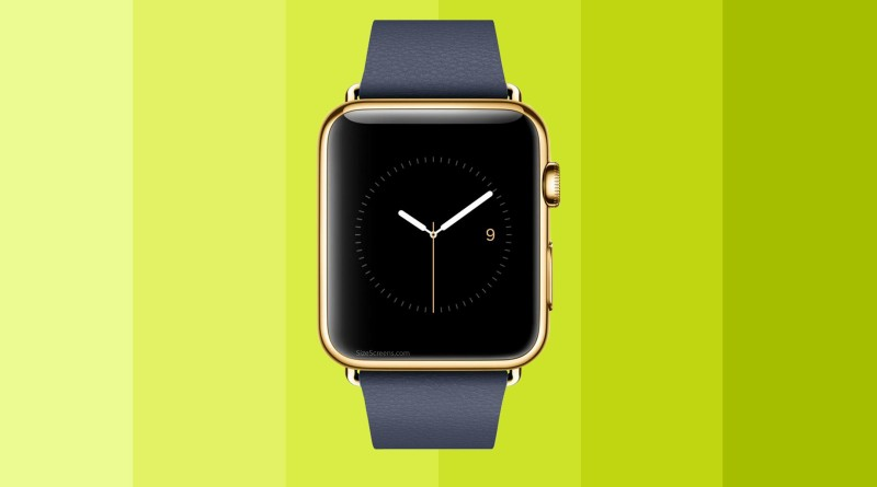 Apple Watch Edition Screen