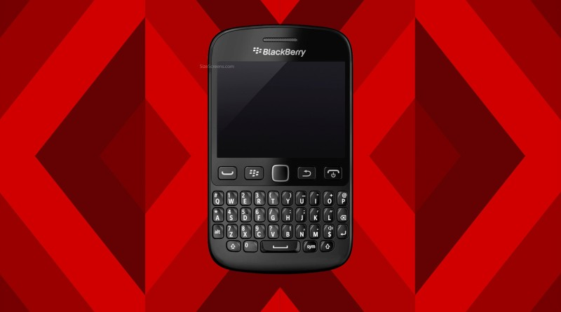 BlackBerry 9720 Screen