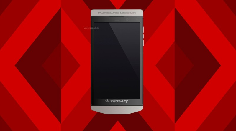 BlackBerry Porsche Design P9982 Screen