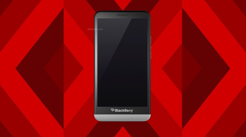 BlackBerry Z30 Screen
