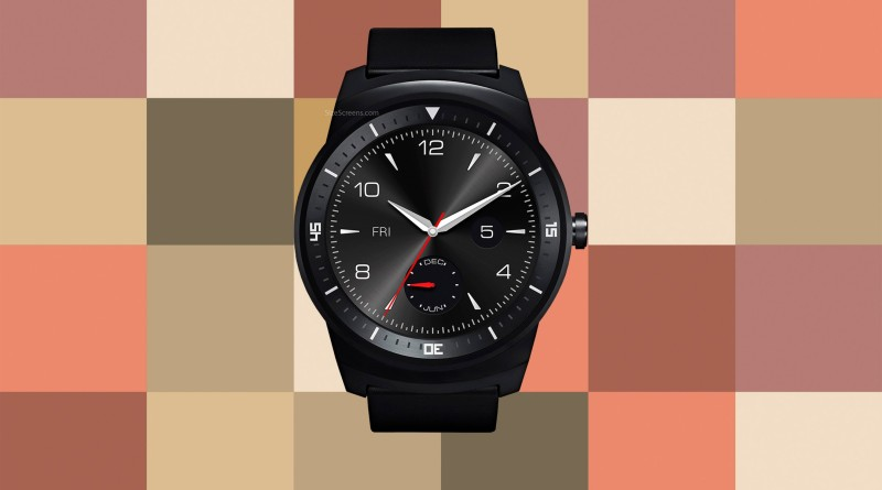 LG G Watch R W110 Screen