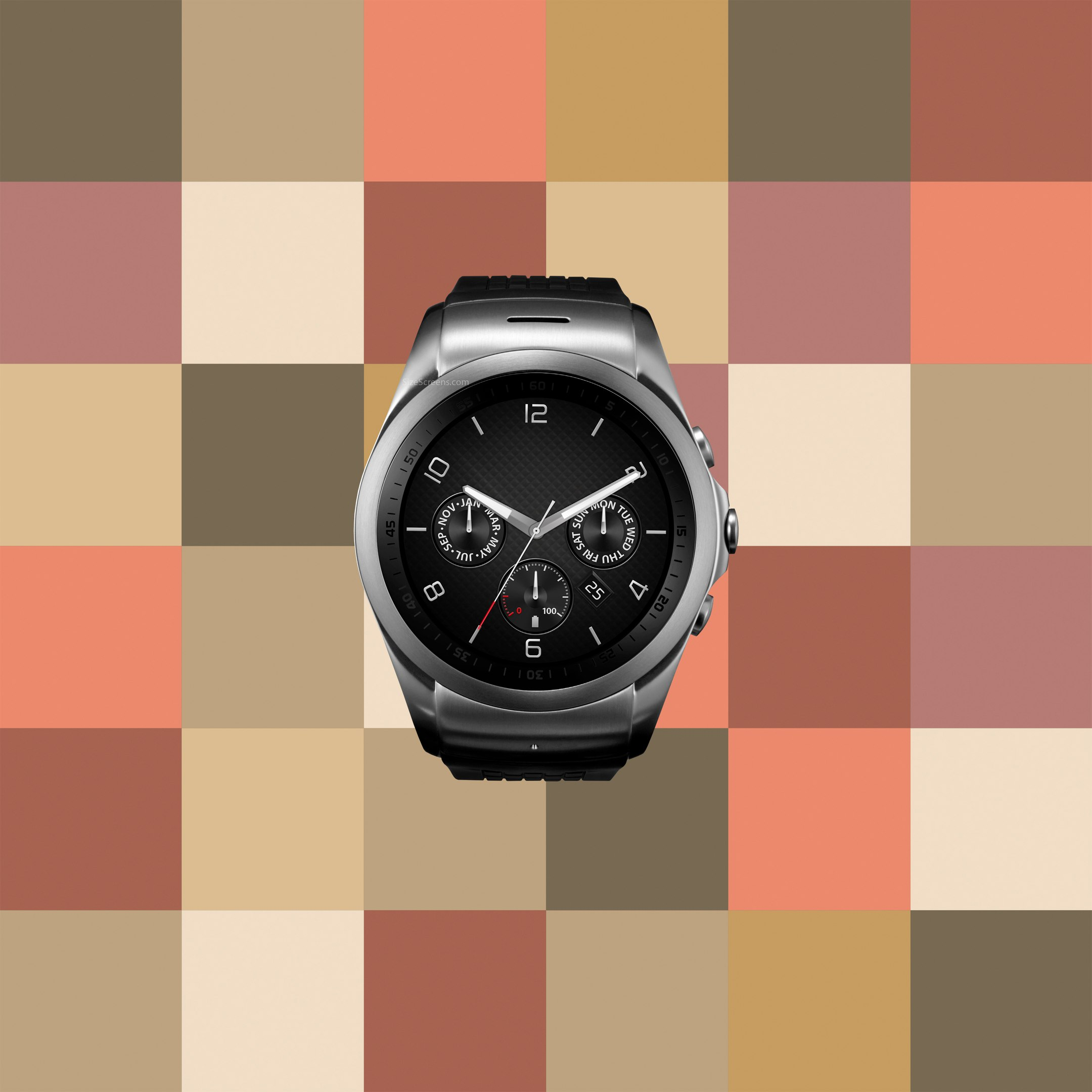 LG Watch Urbane LTE Screen Specifications • SizeScreens.com