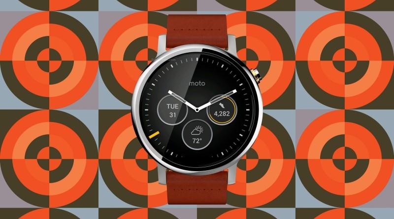 Motorola Moto 360 46mm Screen
