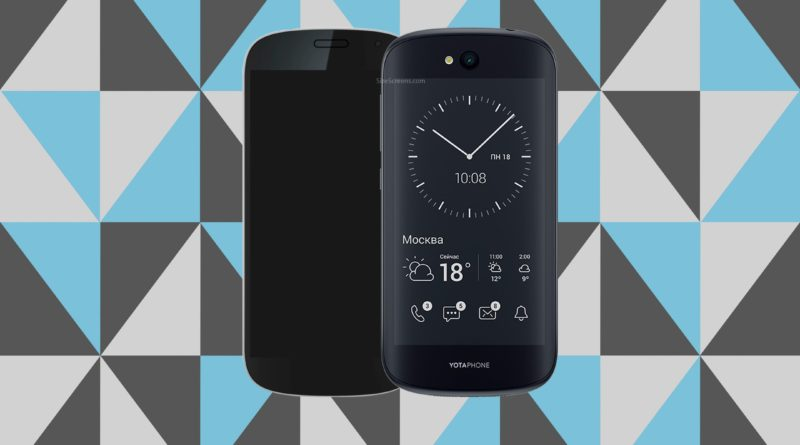 YotaPhone 2 Screen