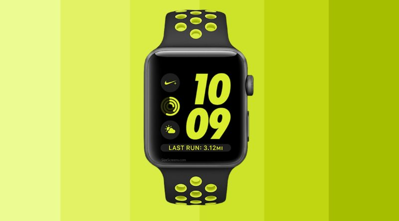 Apple Watch Nike+ Screen