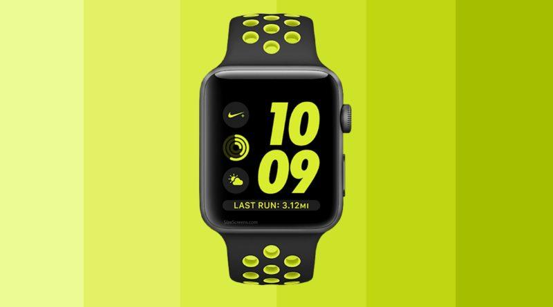 Apple Watch Nike+ Screen