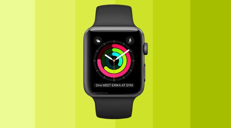 Apple Watch Series 2 Screen