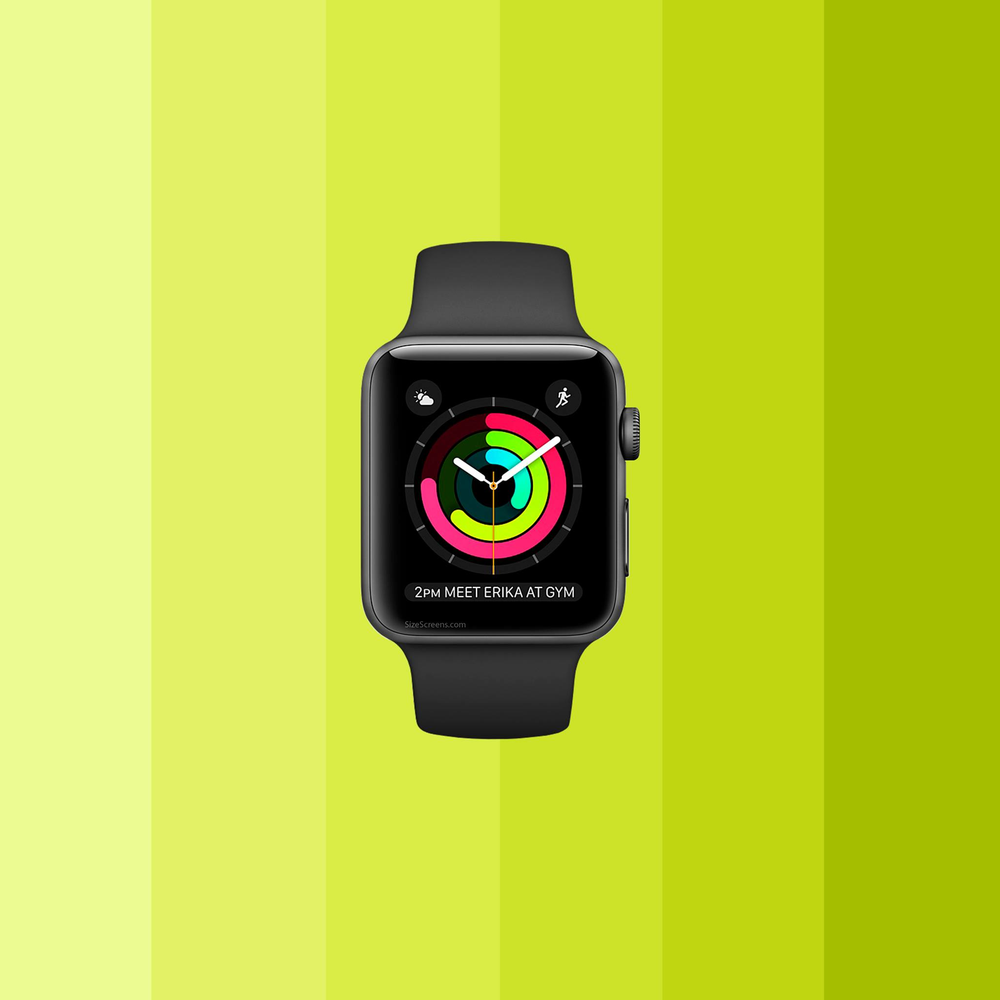 how to change an apple watch screen