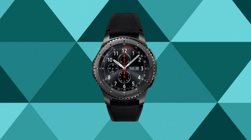 Samsung Gear S3 frontier Screen