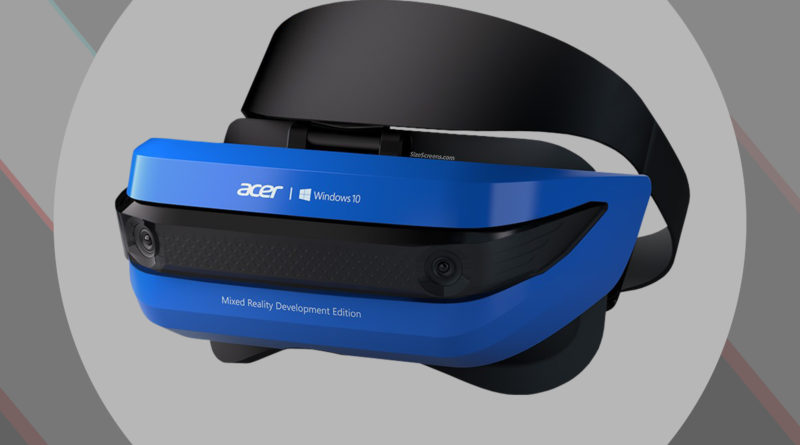 Acer Windows Mixed Reality HMD AH100