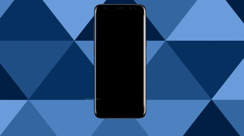 Samsung Galaxy S8 Screen