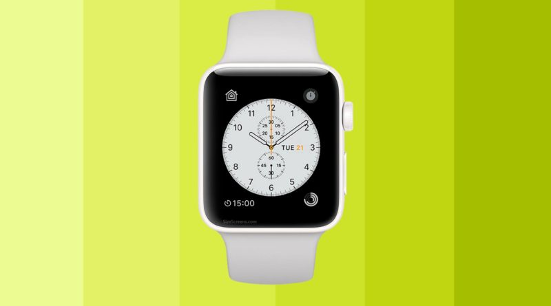 Apple Watch Edition Series 2 Screen