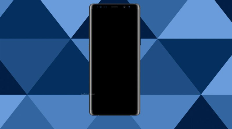 Samsung Galaxy Note8 Screen