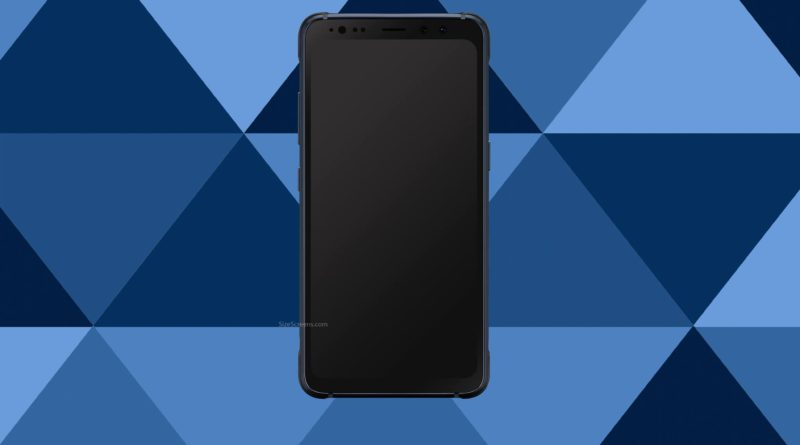 Samsung Galaxy S8 Active Screen