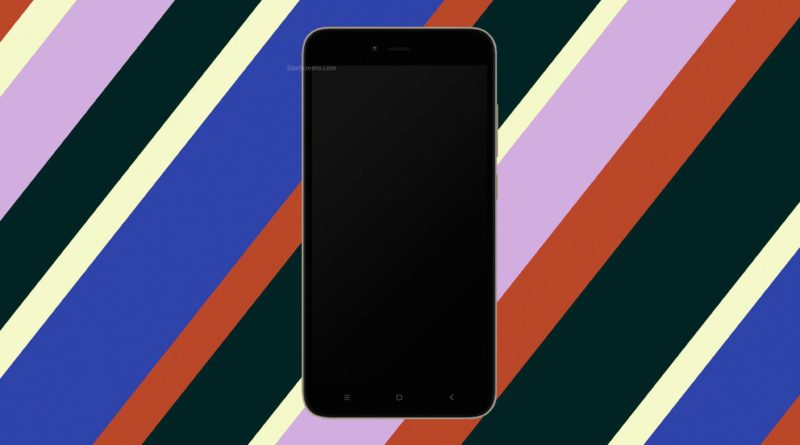 Xiaomi Redmi Note 5A Screen