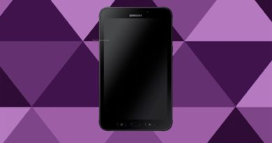 Samsung Galaxy Tab Active 2 Screen