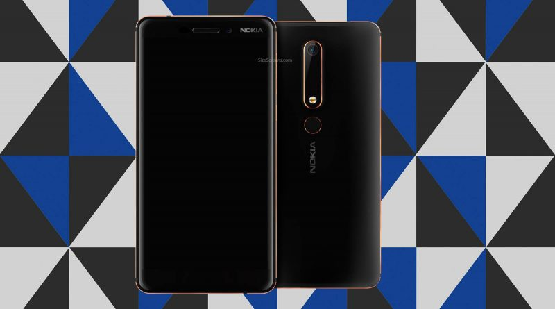 Nokia 6 2018 Screen
