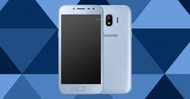 Samsung Galaxy J2 Pro 2018 Screen