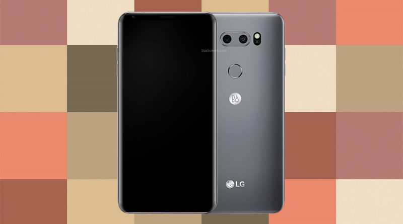 LG V30s ThinQ Screen