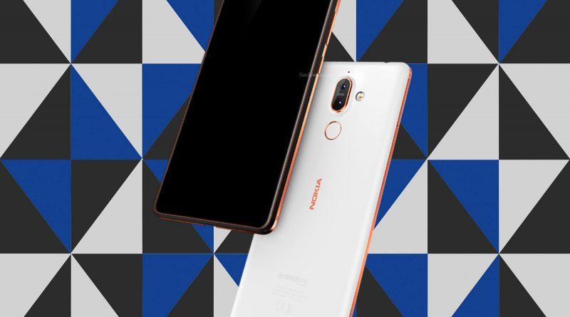 Nokia 7 plus Screen