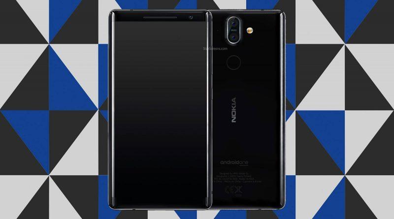 Nokia 8 Sirocco Screen