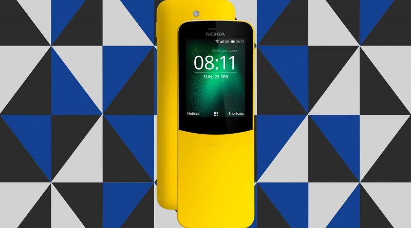 Nokia 8110 4G Screen