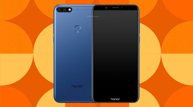 Huawei Honor 7C Screen