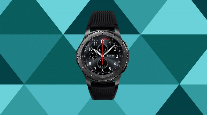 Samsung Gear S3 frontier LTE Screen