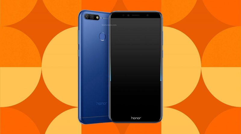 Huawei Honor 7A Screen