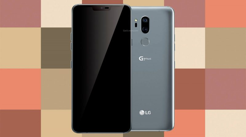 LG G7 ThinQ Screen