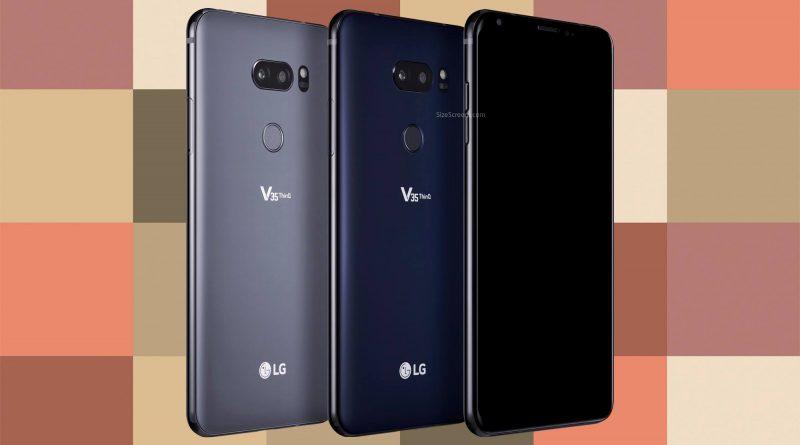 LG V35 ThinQ Screen