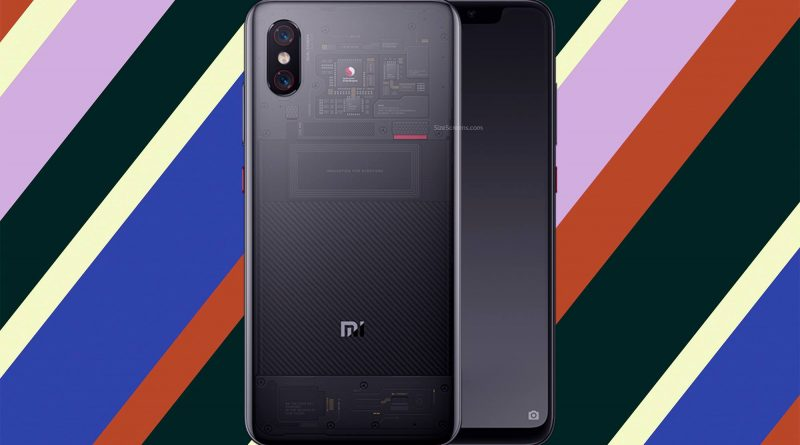 Xiaomi Mi 8 Explorer Screen
