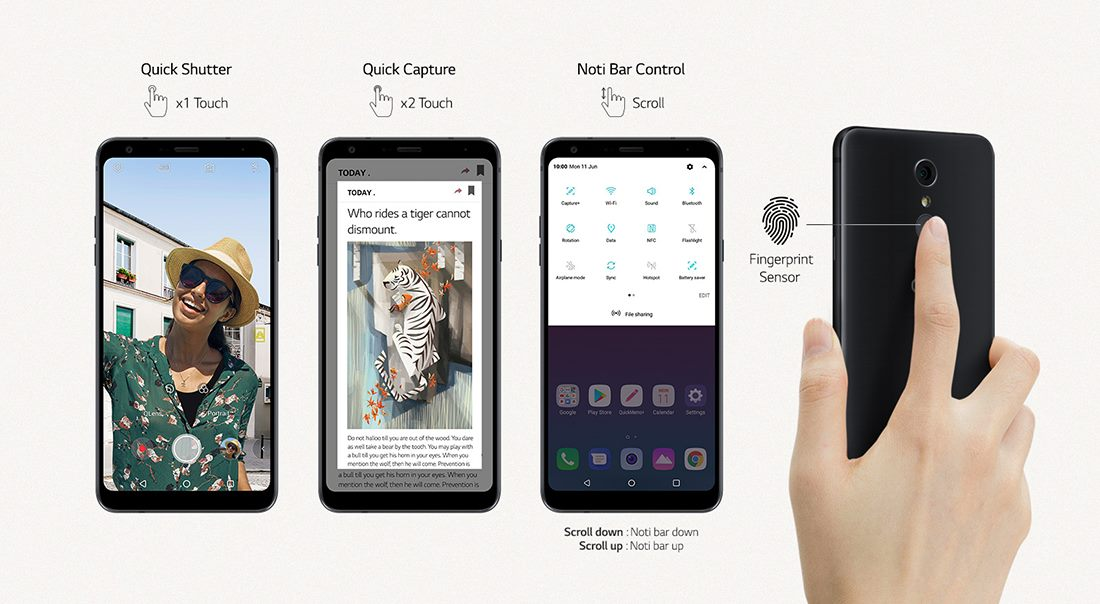 LG Stylo 4 Screen Specifications • SizeScreens com