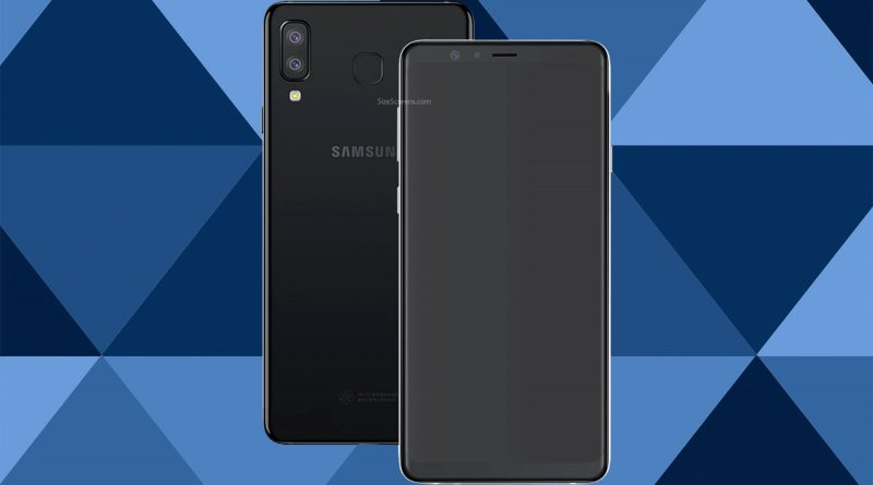 Samsung Galaxy A8 Star Screen