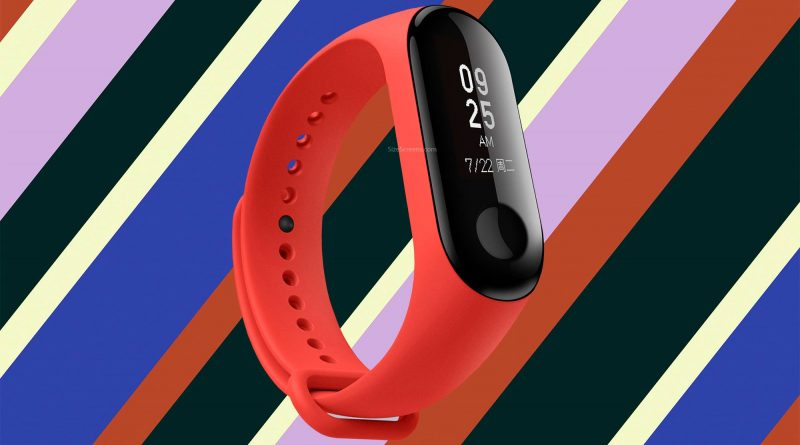 Xiaomi Mi Band 3 Screen