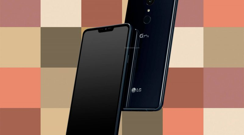 LG G7 Fit Screen