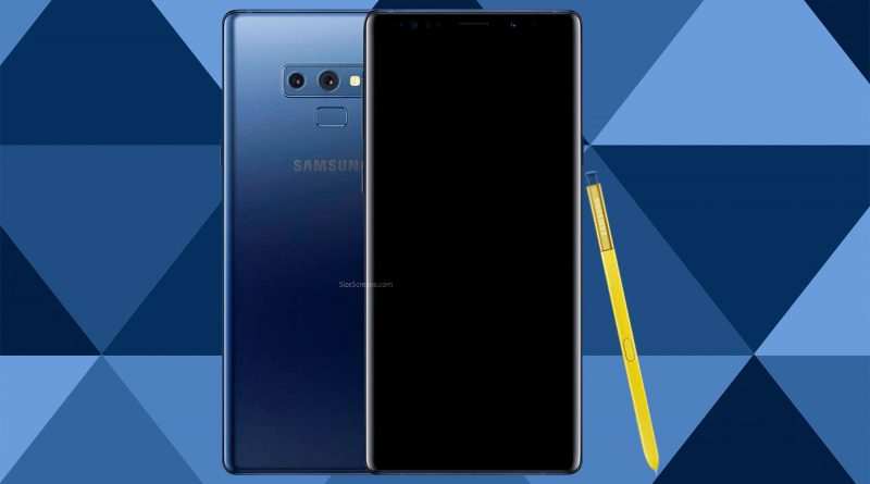 Samsung Galaxy Note9 Screen