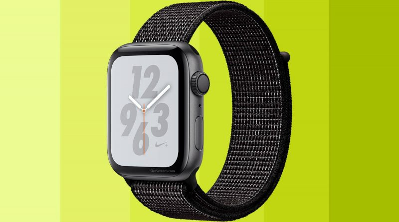 Apple Watch Nike+ Series 4 Screen