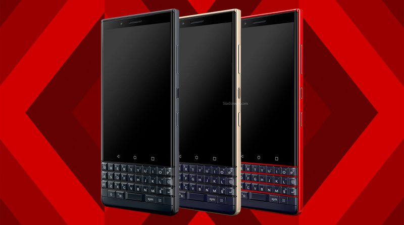 BlackBerry KEY2 LE Screen