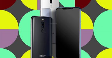 Meizu X8 Screen