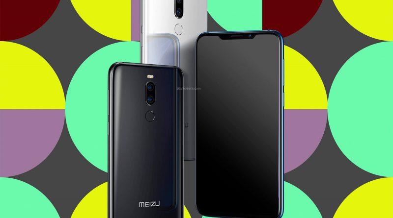 Meizu X8 Screen