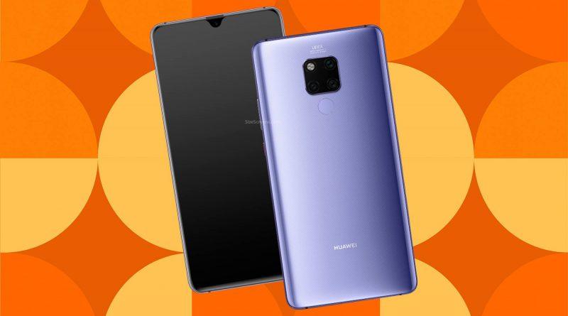 Huawei Mate 20 X Screen