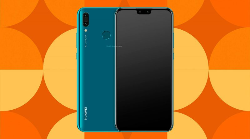 Huawei Y9 2019 Screen