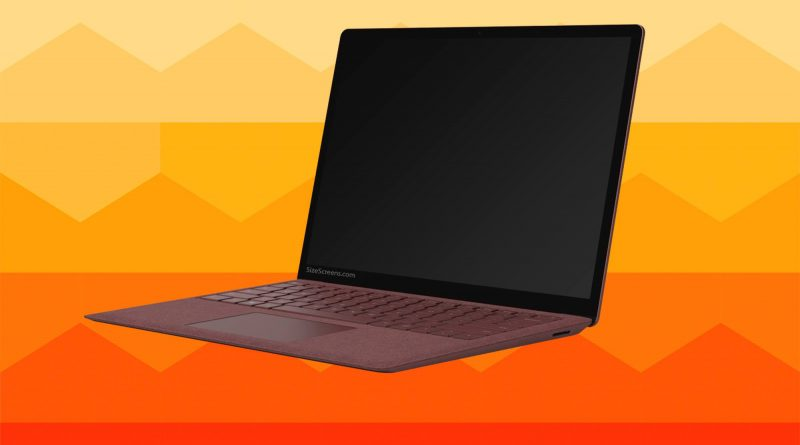 Microsoft Surface Laptop 2 Screen