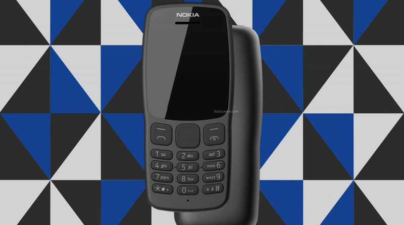 Nokia 106 2018 Screen