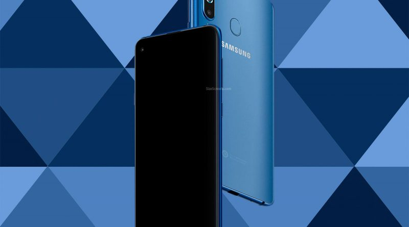 Samsung Galaxy A8s Screen