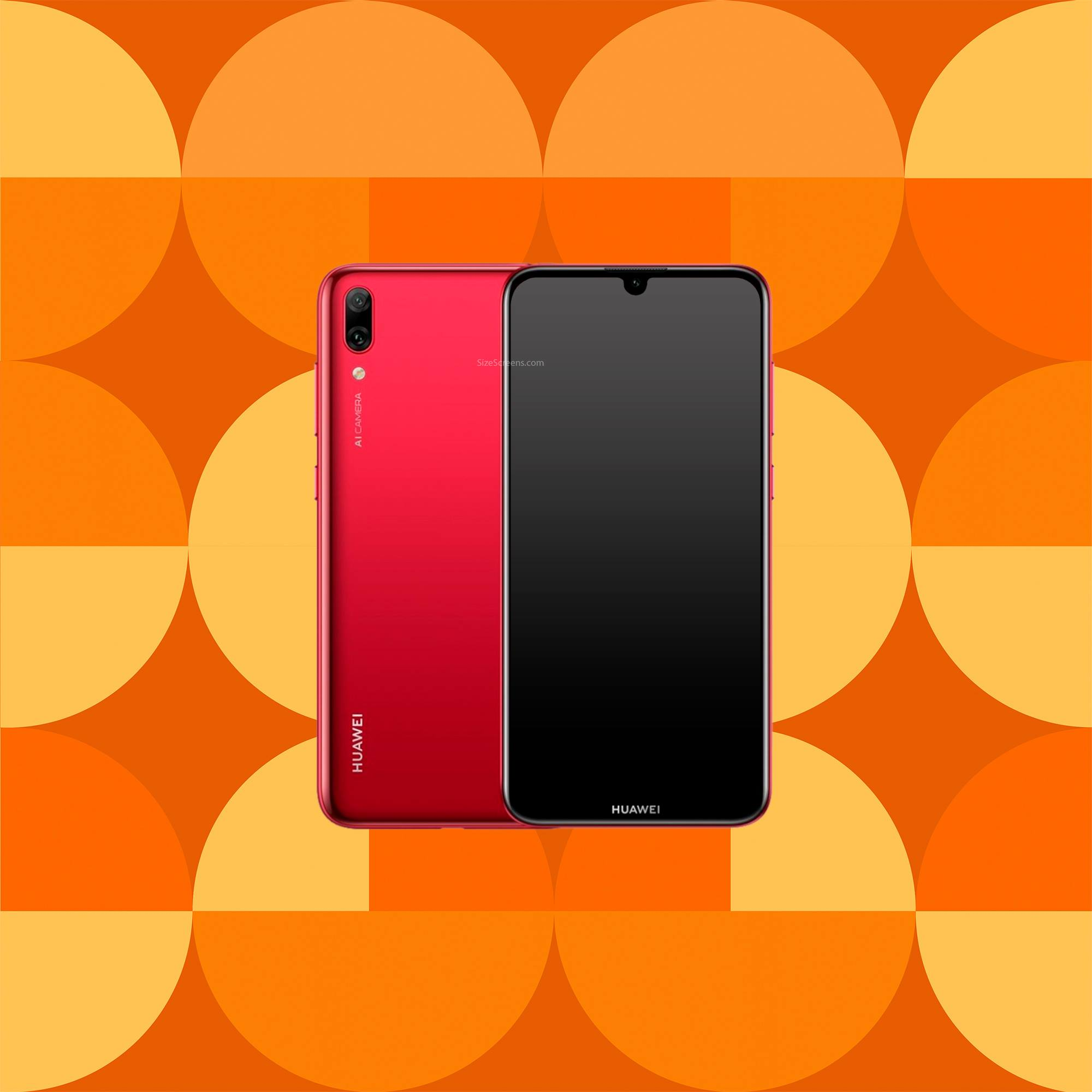 Huawei Y7 Prime 2019 Screen Specifications • SizeScreens.com