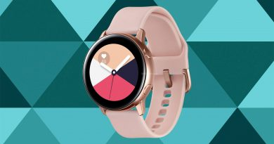 Samsung Galaxy Watch Active Screen