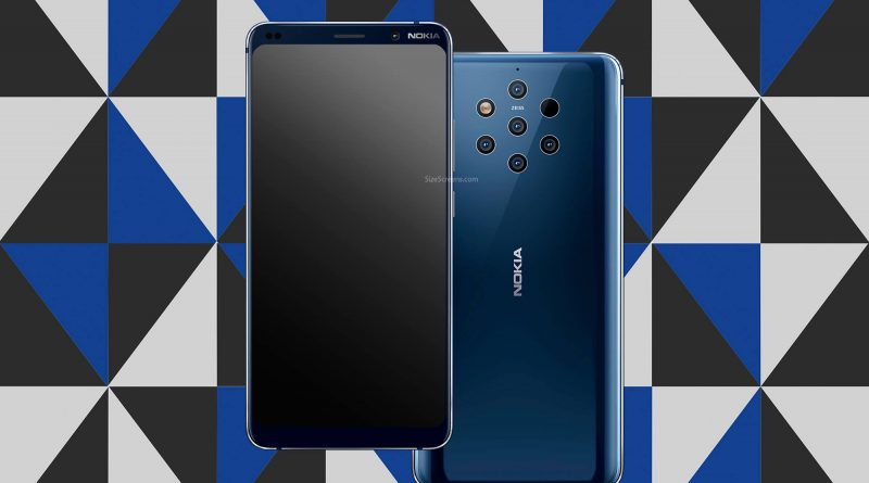 Nokia 9 PureView Screen