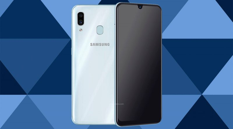 Samsung Galaxy A30 Screen